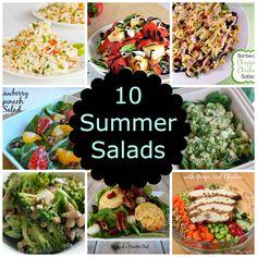 10 Summer Salads- Love, Pasta and a Tool Belt