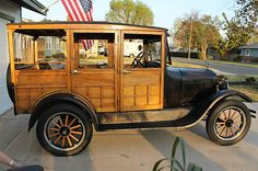 1926 Ford: Model T Woody