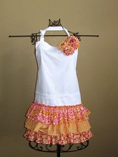 Cute apron, add on to an existing apron