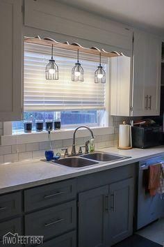 28 Best Over Kitchen Sink Lighting Images