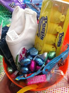 Luxury Easter Eggs - filled with baby clothes and candy