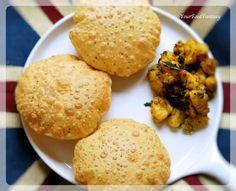 Ajwain Ke Poori Recipe | How to make puffed Puri | Your Food Fantasy