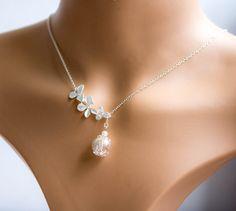 Dandelion Necklace Jewelry Glass Globe Pendant Real Dried
