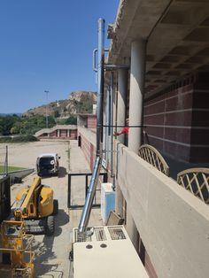Proyecto Agresa Manresa_ Ajuntament d'Igualada_instalación de un grupo electrógeno // Agresa Manresa Project_ Ajuntament d'Igualada_installation of a generator set// Agresa Manresa Project_ Ajuntament d'Igualada_installation d'un groupe électrogène.