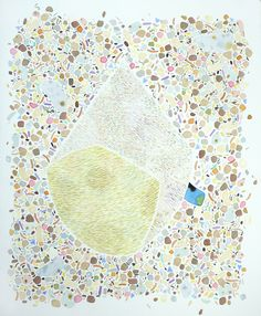 Amber Wilson, Modern Pilgrim, 2011, Watercolour on paper, (Sold)