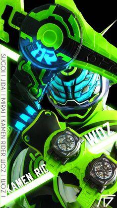 Kamen Rider Woz Wallpaper by afdryan on DeviantArt Kamen Rider Decade, Kamen Rider Series, Jin Kazama, Kamen Rider Zi O, Game Logo Design, Anime Cat, Sci Fi Characters, Power Rangers, Geek Stuff