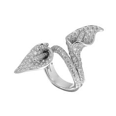 Asprey Calla Lily Ring ♥ I'm sure I can convince her to wear one of her favorite flowers on her finger