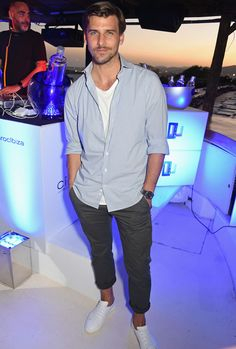 Johannes Huebl at Ciroc On Arrival Party
