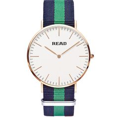 READ Ultra-Thin His & Hers Watches Simple Pair Analog Watch Cuff Stainless Steel #READ #Casual