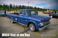 MSCC Oct 12 Star of the Day-this '68 Fargo at a June show...cool Canuck truck. Read more: http://www.mystarcollectorcar.com/3-the-stars/40-model-stars/2474-mscc-southside-star-of-the-day.html