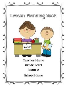 UPDATED Sept. 2016-June 2017 Teacher Lesson Planning Book! Completely editable! I have been loving using it!