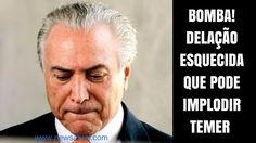 BOMBA! DELAÇÃO ESQUECIDA QUE PODE IMPLODIR TEMER - DEPOIMENTO DE ROGÉRIO...