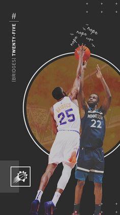 Phoenix Suns, The Twenties, Nba, Bridges, Athletes, Basketball, Paper, Wall, Walls