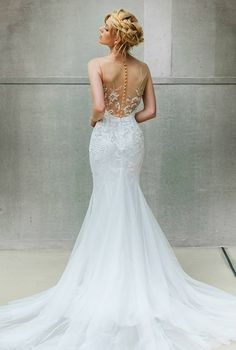 100 beautiful wedding dresses to inspire for the Style-Obsessed Bride,elegant wedding dress - This romantic & unique wedding dress is showing of your body