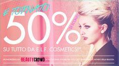 [News] E.L.F. - Sconto 50% su tutto in collaborazione con Beauty Crowd