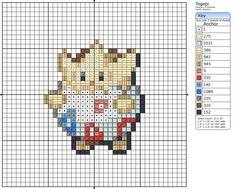 Togepi by Makibird- cross stitch pattern Pokemon
