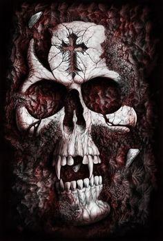 Skulls:  Vampire #skull.