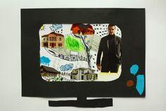 CO VYSÍLALA TELEVIZE? - Vymyslet krátký děj, část z něj výtvarně zobrazit, obraz zasadit do vytvořené televize (dokreslovaná koláž) . . . . . #kolaz #papirova_kolaz #dokreslovana_kolaz #televize #televizor #starozitny_televizor #kresba_fixy #predmety #kresba_pastelkami #vytvarna_vychova #vytvarka #vytvarne_napady #television #tv #collage #paper_collage #pen_drawing #subject #tvoreni_s_detmi #kvetiny #flowers #vyroba_televize #diy #kidsart #kidscraft