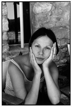 Magnum Photos - Henri Cartier-Bresson, FRANCE. 1998. Russian actress Dina KORZUN.