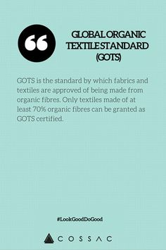 The Modern Girl's Eco Fashion Dictionary | COSSAC #ethicalfashion