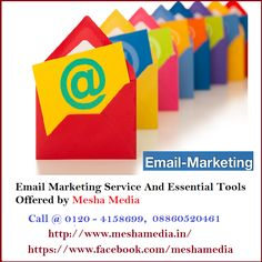 There are so many ways to promote your services through email marketing service‬. We offering Email Marketing Service and Essential Tools that will provide you business lead.