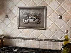 Decorative Tile Accent Over Cooktop   Google Search