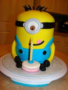 Minion Cake - Dallas 6th Birthday idea