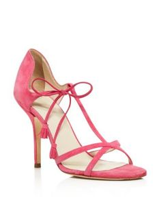 Frances Valentine Valentina T Strap High Heel Sandals | Bloomingdale's