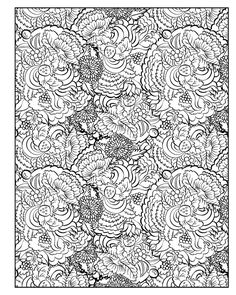 Diabolically Detailed Coloring Book Volume 1 Art Filled Fun Books