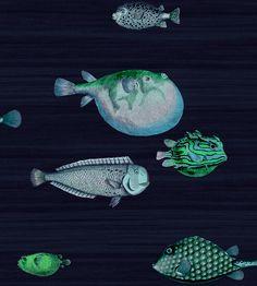 Fornasetti II Acquario wallpaper by Cole & Son