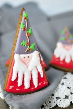 Holiday gnome cookie @Lisa Phillips-Barton Phillips-Barton Phillips-Barton Osterhout