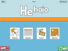 He hajo is een hulpmiddel voor mensen met een verstandelijke beperking bij de communicatie (Augmentative and Alternative Communication; AAC). Communicatie is mogelijk met Pictogrammen, een agenda helpt bij het dagritme en in het fotoboek kunnen albums gemaakt worden. De pictogrammen hebben een ingesproken tekst en de foto's en zelf te maken pictogrammen kunnen worden voorzien van spraak en tekst.