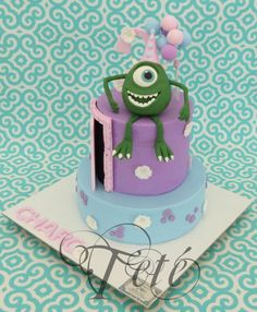 MONSTER INC. - Cake by Teté Cakes Design