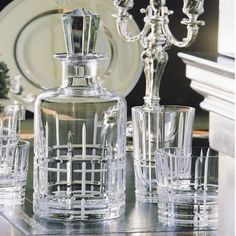 Scottish Crystal Whisky Decanter by Christofle from Wedding List Co - The Leading Bridal Registry Specialist