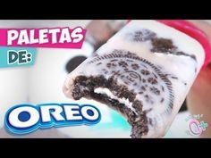 Paletas congeladas de Galleta Oreo ¡Cremositas! - YouTube
