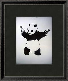 Pandamonium Art Print at Art.com