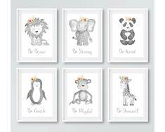 Safari Nursery, Animal Nursery, Nursery Prints, Girl Nursery, Safari Bedroom, Babies Nursery, Childrens Wall Art, Photo Printing Services, Baby Room Decor