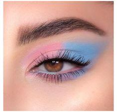 Dope Makeup, Edgy Makeup, Makeup Eye Looks, Eye Makeup Art, Pink Makeup, Crazy Makeup, Pretty Makeup, Eyeshadow Makeup, Makeup Inspo