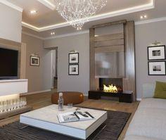 Moderne Deckenbeleuchtung Wohnzimmer