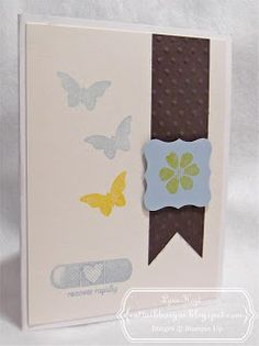 Stampin Up, 10 min Fast and Fabulous card for Wed, june 5. #StampinUp, #10mincard,
