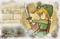 Legend of Zelda, fanart, and link Bild