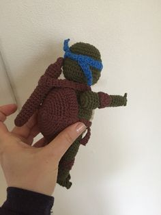 Hæklet Ninja turtles