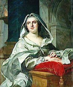 Portrait of Louise-Elisabeth de France, duchesse de Parme as a vestal virgin, Oil on canvas, 102 x 83 cm (Versailles)