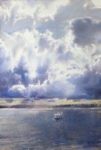 """В тени бегущих облаков""   ""In the shadows of the running clouds"""
