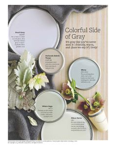 Colorful grays
