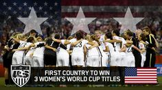 The USA margin of victory over Japan was largest in a Women's World Cup Final.
