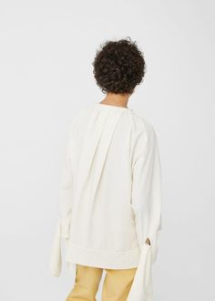 Organic cotton blouse | MANGO
