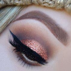 Copper glitter Nyx