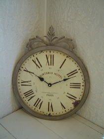 アイアンアンティーク風 壁掛け時計