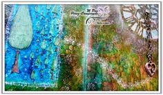 Manos y Mente Art Journaling: Mi libreta se convierte en reto: día 1 de 10